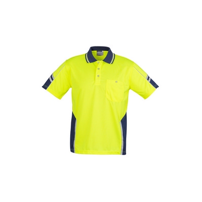 Mens Hi Vis Squad S/S Polo (ZH237_SYZM)