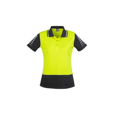 Womens Hi Vis Zone Polo (ZHL236_SYZM)