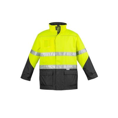 Mens Hi Vis Storm Jacket (ZJ350_SYZM)