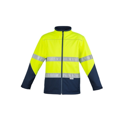 Unisex Hi Vis Soft Shell Jacket (ZJ353_SYZM)