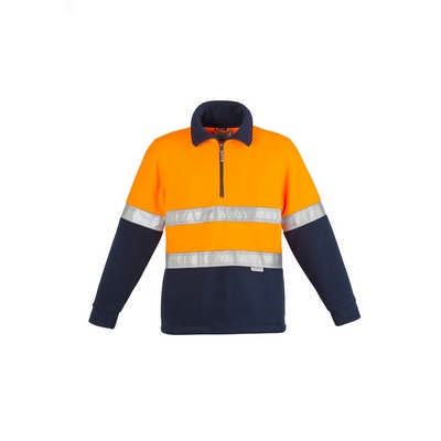 Mens Hi Vis Fleece Jumper - Hoop Taped (ZT461_SYZM)