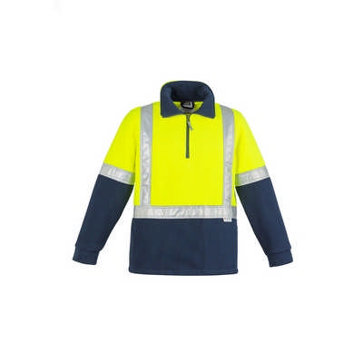 Mens Hi Vis Fleece Jumper - Shoulder Taped (ZT462_SYZM)