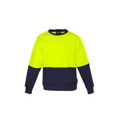 Unisex Hi Vis Crew Sweatshirt (ZT465_SYZM)