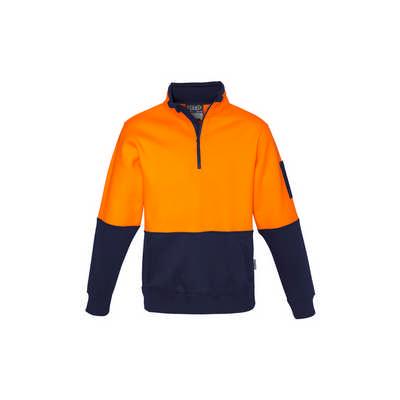Unisex Hi Vis Half Zip Pullover (ZT466_SYZM)
