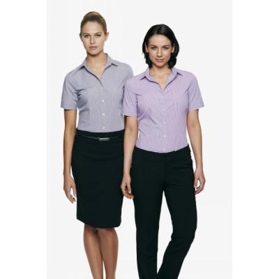 Ladies Toorak Check Short Sleeve Shirt