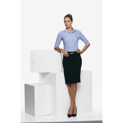 Ladies Toorak Check 3/4 Sleeve Shirt