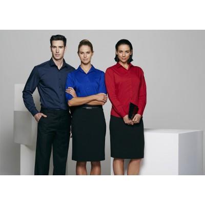 Ladies Mosman Stretch 3/4 Sleeve Shirt