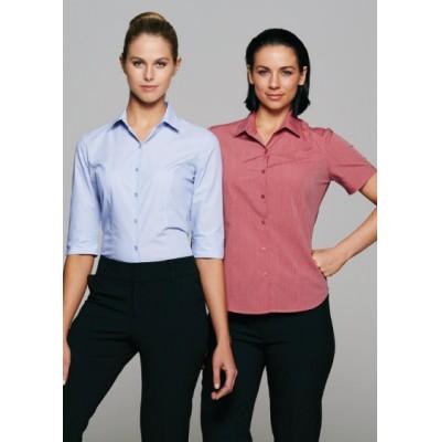 Ladies Belair MiTong Stripe 34/ Sleeve Shirt