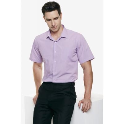 Men`s Grange MiTong Check Short Sleeve Shirt