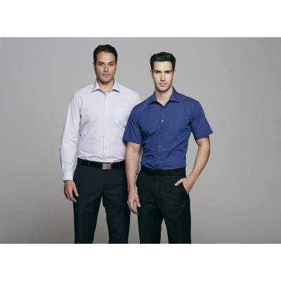 Men`s Belair MiTong Stripe Short Sleeve Shirt
