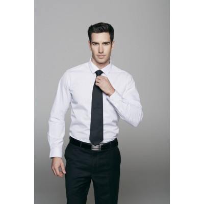 Men`s Bayview Wide Stripe Long Sleeve Shirt