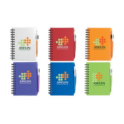 BIC Plastic Cover Notebook - Small (G4001_BIC)