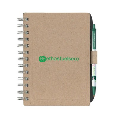 BIC Ecolutions Chipboard Cover Notebook with BIC Ecolutions Clic Stic (G6010_BIC)