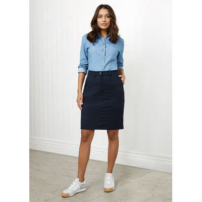 Ladies Lawson Chino Skirt (BS022L_BIZ)