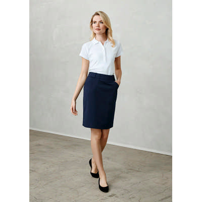 Ladies Detroit Flexi-Band Skirt (BS612S_BIZ)