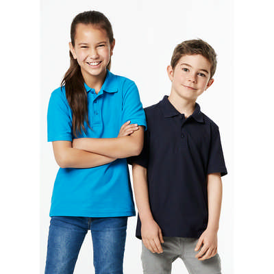 Kids Crew Polo Shirt (P400KS_BIZ)