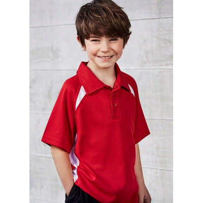Kids Splice Polo Shirt (P7700B_BIZ)