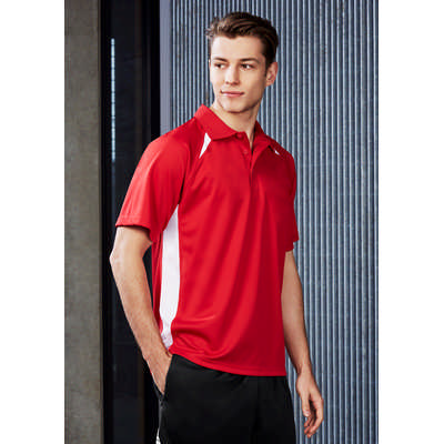 Mens Splice Polo Shirt (P7700_BIZ)