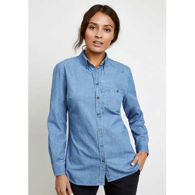 Indie Ladies Long Sleeve Shirt (S017LL_BIZ)