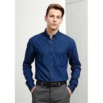 Indie Mens Long Sleeve Shirt (S017ML_BIZ)