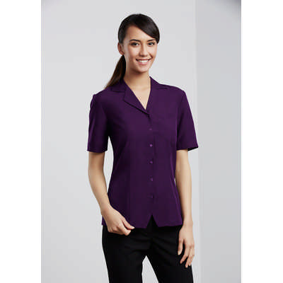 Oasis Ladies Plain Overblouse (S265LS_BIZ)
