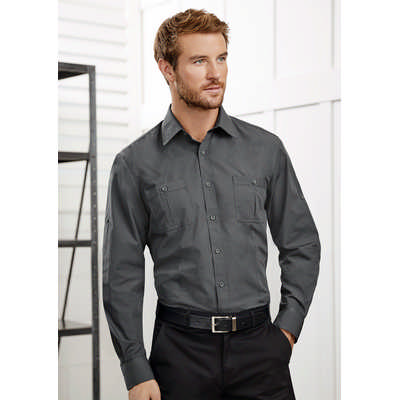 Mens Bondi Long Sleeve Shirt (S306ML_BIZ)