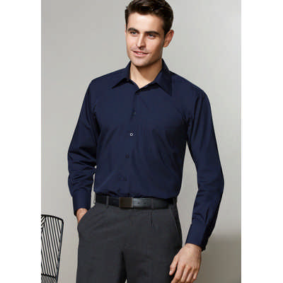 Mens Metro Long Sleeve Shirt (SH714_BIZ)