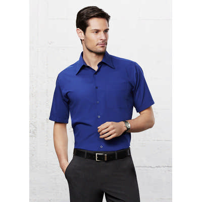 Mens Metro Short Sleeve Shirt (SH715_BIZ)