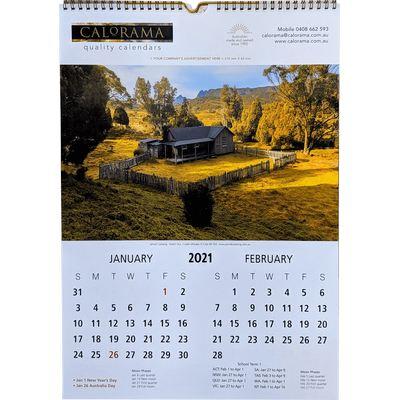 6 Page Multi Calendar
