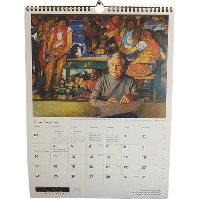Art Wall Calendar