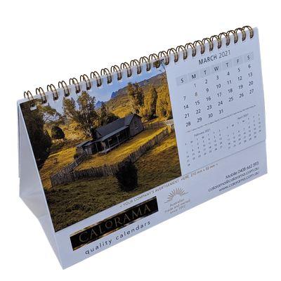 Standard Desk Calendar