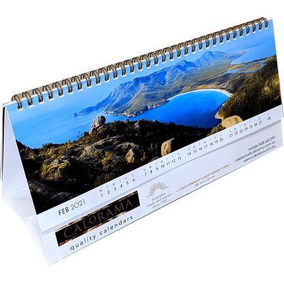 Panoramic Desk Calendar