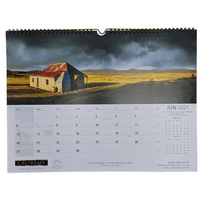 Small Panoramic Wall Calendar (PS_CALO)