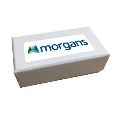 2pc Belgian Chocolate Gift Box -White - (printed with 4 colour(s)) CPBTW2F_3D_BC