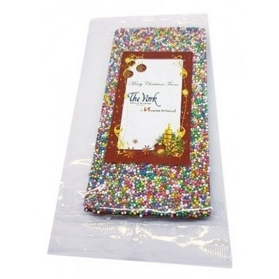 100 gram Chocolate Freckle Bar - (printed with 4 colour(s)) CPCH22_3D_BC