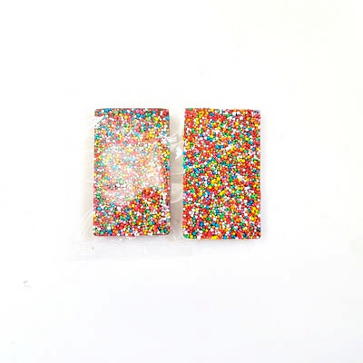 30 gram Rectangle Chocolate Freckle Bar - (printed with 1 colour(s)) CPCH21_BAR_BC