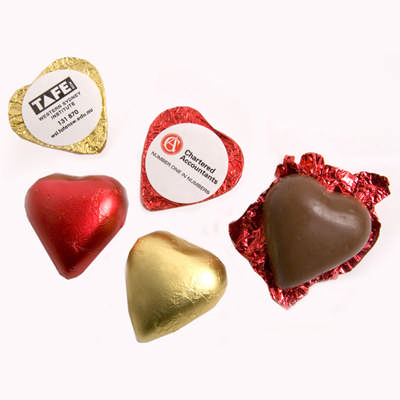 Chocolate Heart 7G - (printed with 4 colour(s)) CC008A_CONF