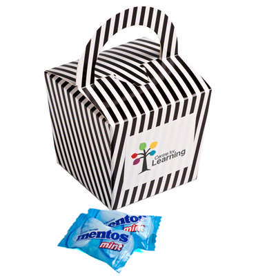 Coloured Noodle Box Filled with Mentos X 26 - (printed with 4 colour(s)) CC056H_CONF