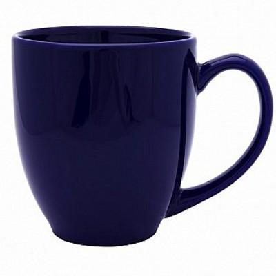 Colonial Ceramic Stoneware Mugs - cobalt (400162COB_MAR)