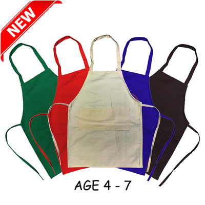 Junior Cotton Apron (Age: 4-7) (AP002_DEX)