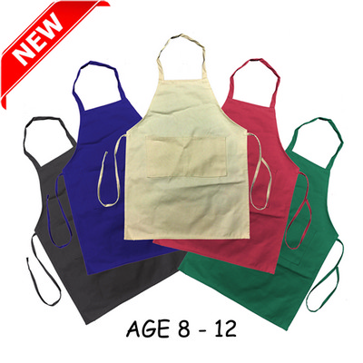 Junior Cotton Apron (Age: 8-12) (AP003_DEX)
