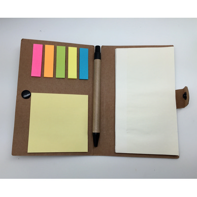 Adhesive Marker Note Pad And Book (NB002_DEX)