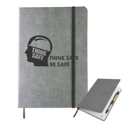A5 Textured Pu Notebook (NB006_DEX)