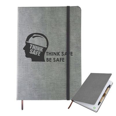 A5 Textured Pu Notebook (NB006_DEX)