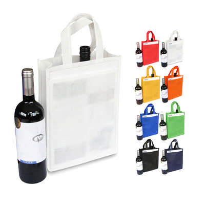 Non Woven 2 Bottle Bag (NWB013_DEX)