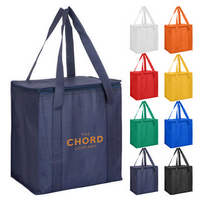 Non Woven Cooler Bag With Zipped Lid (NWB016_DEX)