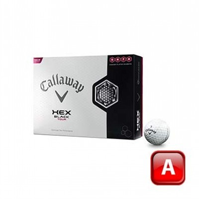 Callaway Hex Black Tour Golf Balls - 1 Colour Print (125CGB-C13-HBT-3)