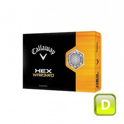 Callaway Hex Warbird - 1 ball boxes - Golf Balls (125CGB-C13-HW-1)