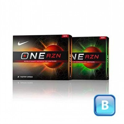 Nike One RZN - Golf Balls (125CGB-N13-OR-3)