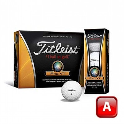 Titleist Prov1 2011 Golf Balls - 1 Colour Print (125CGB-T11-PV1-3)